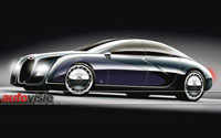 New Bugatti sedan