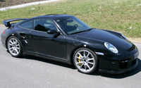 Spy photo of the Porsche 997 GT2